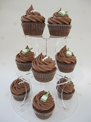chocolate champagne cupcakes