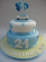 classic mini birthday cake