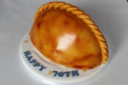 cornish pasty birthday cake