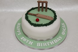 cricket birthday cake