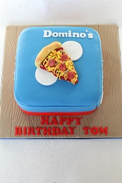 dominos pizza birthday cake