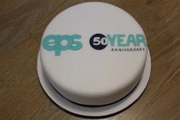 eps group 50th anniversary cake