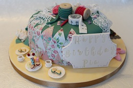 escape to the chateau inspired birthday cake