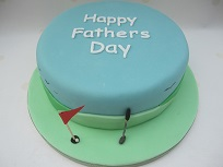 fathers day golf cake