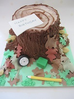 geocaching birthday cake
