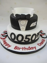 james bond dj birthday cake