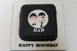 laurel and hardy birthday cake
