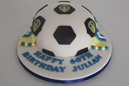 leeds football birthday cake
