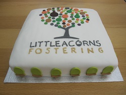 little acorns fostering cake
