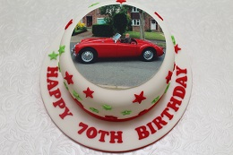 mga car birthday cake