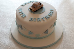 rover p6 birthday cake