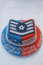 staff sergeant promotion cake