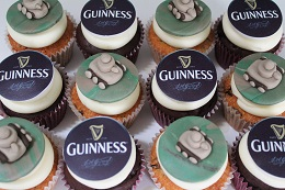 tank and guinness cupcakes