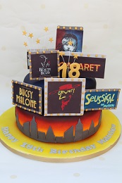 theatre birthday cake