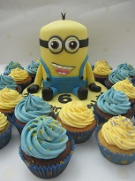 tim minion and cupcakes