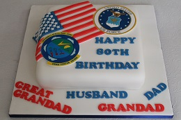 us air force birthday cake