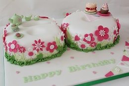 wi afternoon tea birthday cake